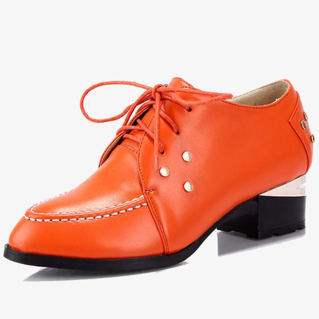 cda3942dc أحذية البرتقال مع الجذر التربيعي نوع المنتج حذاء جلد PNG صورة للتحميل مجانا
