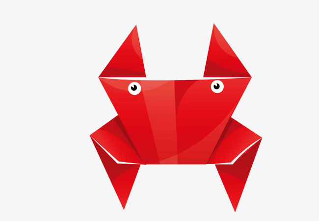 Origami Animals Cartoon Hand Painted Origami Png Image And - Origamis-animales