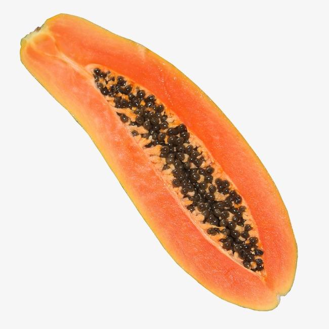 papaya png - 650×650