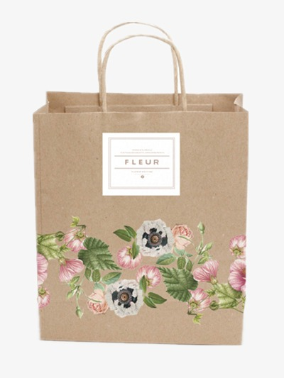 Paper Bags Flower Shop Bag Decorative Bags Png Image And Clipart