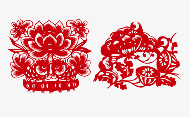 Paper Cutgrillesnew Yearchinese New Year Clipart Chinese