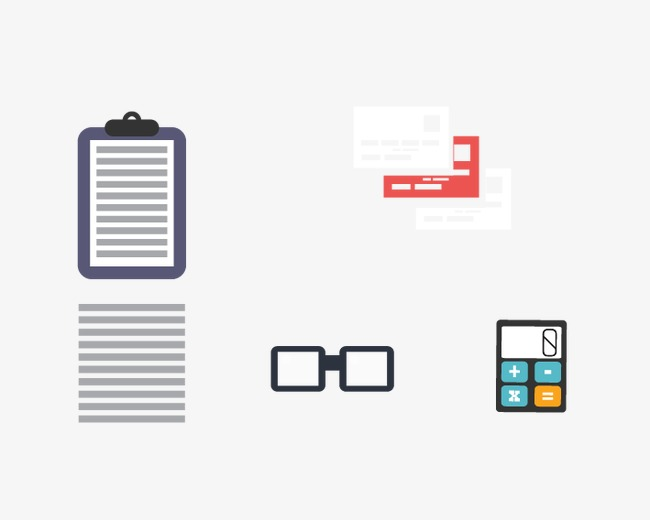 Paper, calculator, eye png and vector for free download.