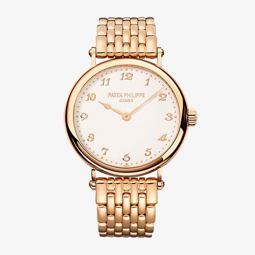 7b96da15584 автоматический механические часы Patek Philippe розового золота продукции Patek  Philippe Calatrava серии Изображение и клипарт PNG