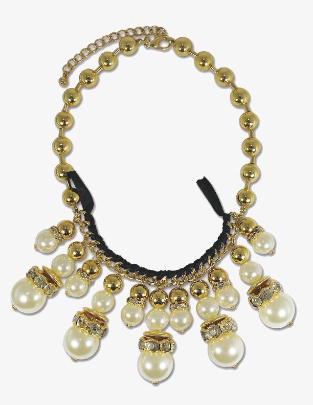 Collar De Perlas Patron Collar Collar De Perlas White Pearl Imagen ...