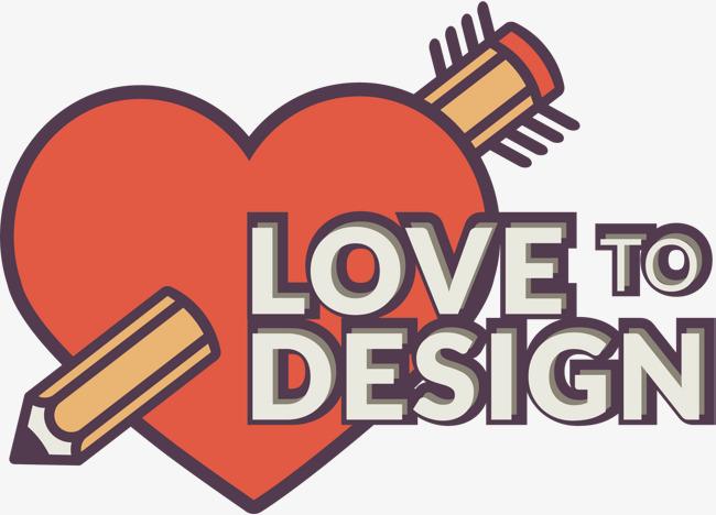Lapiz Amor Vector Lapiz Amor Dibujo A Mano De Dibujos Animados