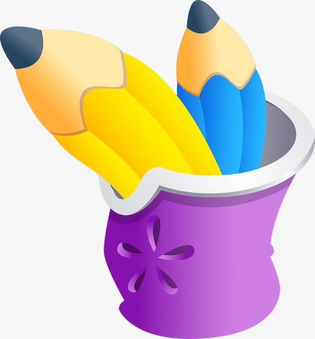 Pensil Kartun Pensil Lukisan Tangan Pensil Mana Pensil Imej Png Dan