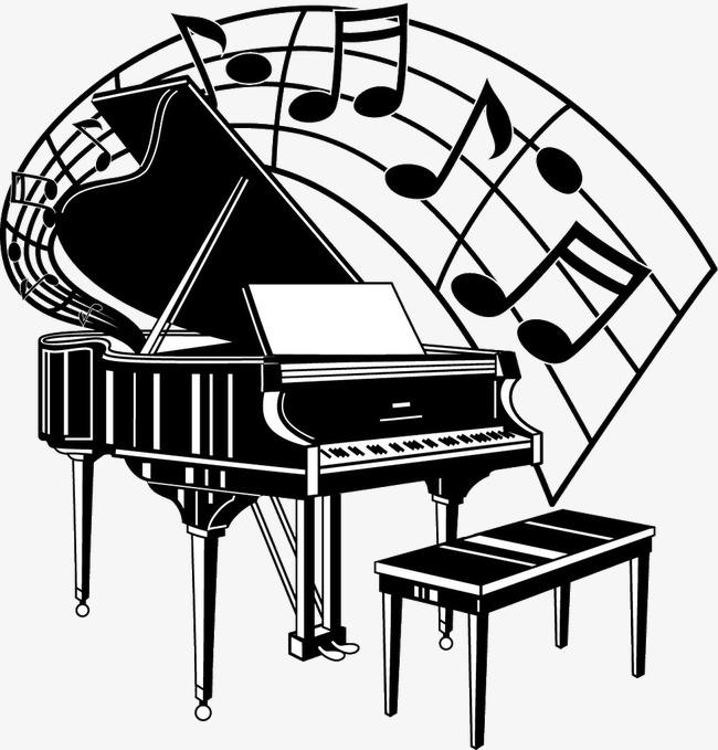 piano la musique symboles de musique fichier png et psd