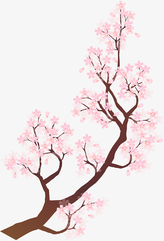 Pink Chinese Wind Birch Clipart Style Png Image And