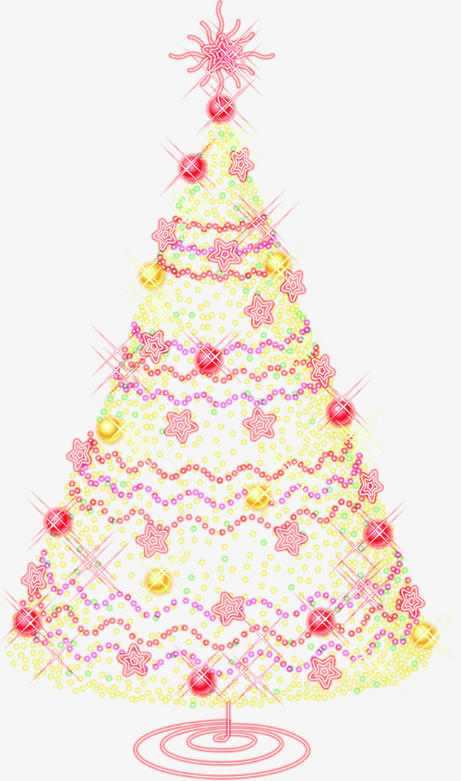 Pink Christmas Tree, Tree Clipart, Hand Painted, Pink PNG ... (650 x 1100 Pixel)