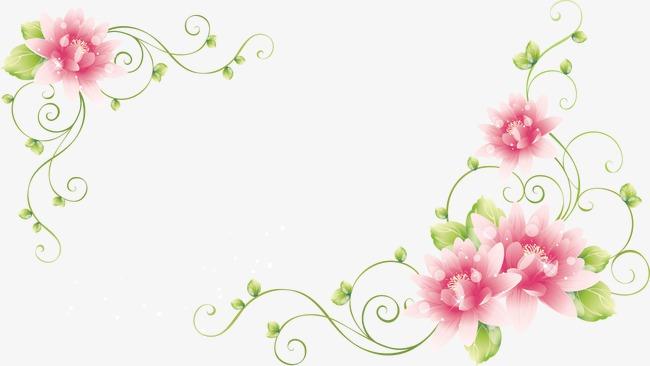 Flores De Color Rosa Flores Petal Dendrita Imagen Png Para Descarga