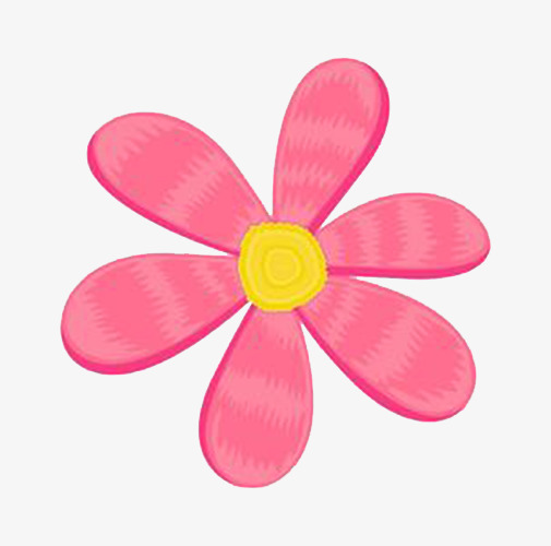 Pink Flowers Cartoon Decoration Headband Png And Psd File For