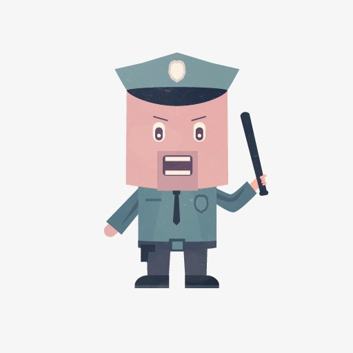 police dress frame png