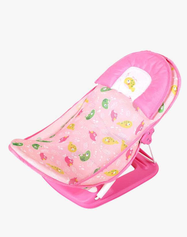 Portable Baby Shower Frame Bed Frame Folding Baby Bath Chair Bath