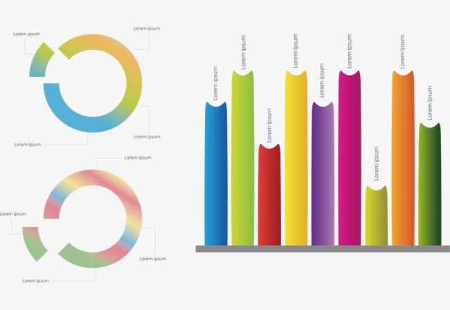 pptヒストグラムベクトルグラフィックス ppt 図形 ヒストグラムの無料