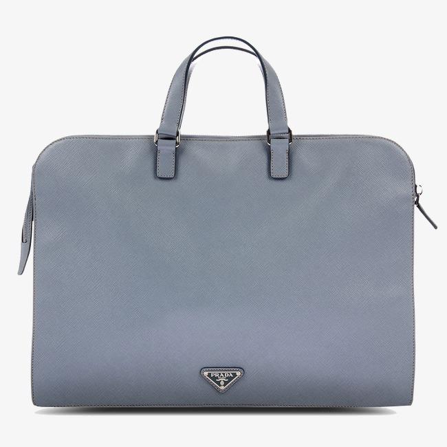 37b806c071f8 Prada Gray Laptop Bag Female Models