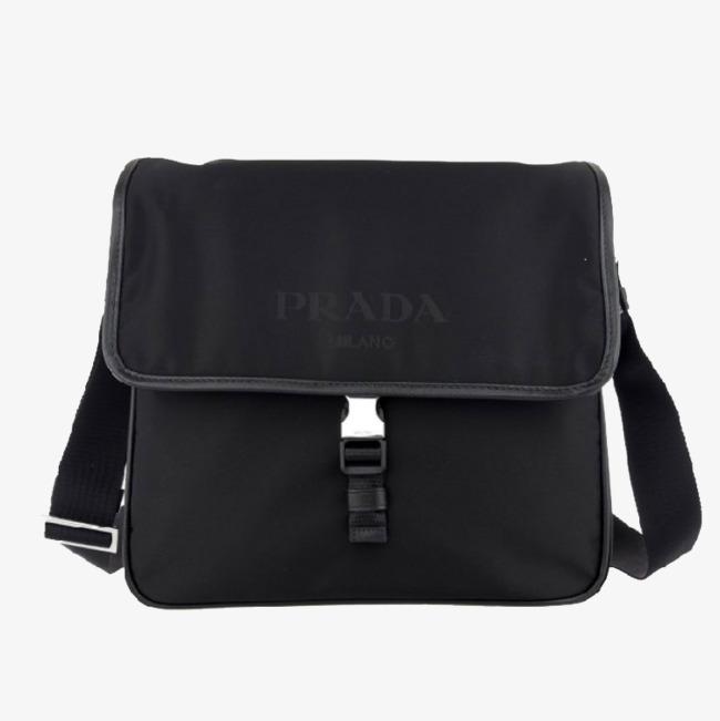 Prada Men S Shoulder Bag Clipart Nylon Png Image And