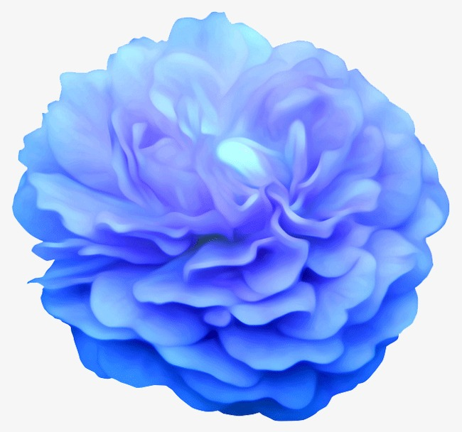Pretty Flowers Light Blue Petal Png And Psd File For Free Download