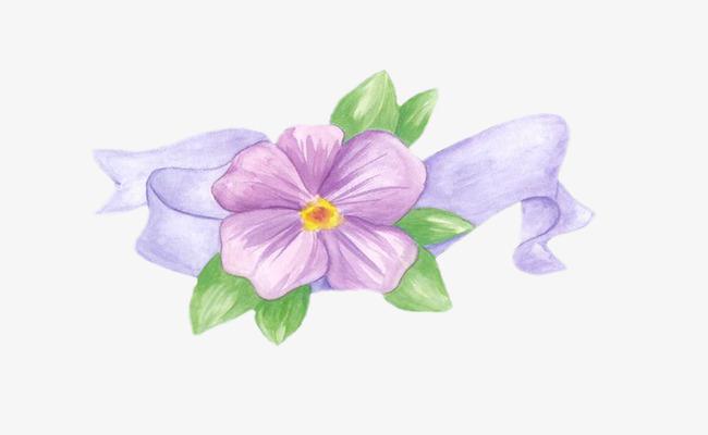 Aspects du mois de Mars - Page 5 Pngtree-purple-flowers-painting-material-png-clipart_1544678