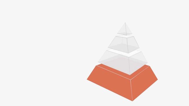 pyramid ppt template ppt template pyramid data chart png image