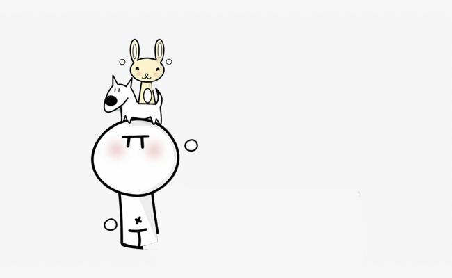 Bunny Rakan Rakan Persahabatan Hitam Dan Putih Imej Png Dan Clipart