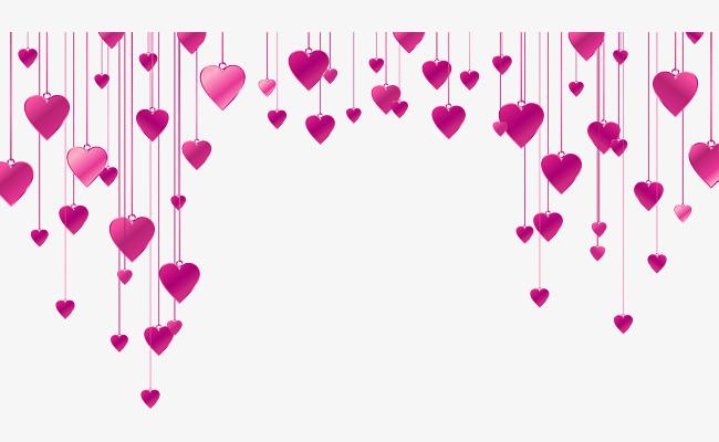 Sonho De Amor Vermelho Enfeites De Material Flutuante Vermelho