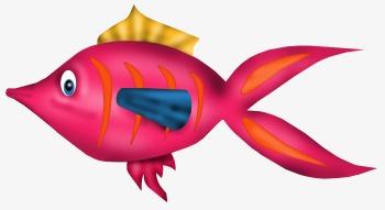 Poisson rouge poisson la main de poisson dessin de poisson image png pour le t l chargement libre - Poisson rouge gratuit ...