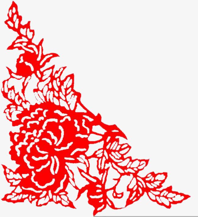 Flores Rojas Flor Cartoon Los Grupos De Consumidores Png Y Vector