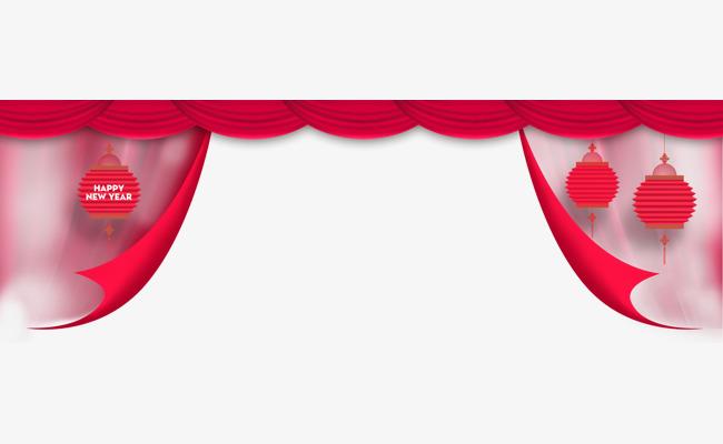 red ribbon lantern border lantern red lantern ribbon png and psd