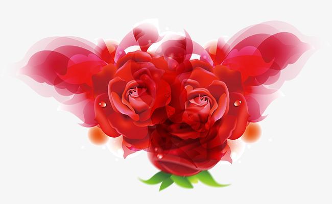 Rose Rouge La Saint Valentin Dessin De Peints A La Main Rendez Vous