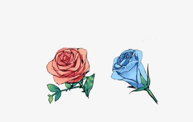 Rosas Rojas Y Rosas Azules Free Tire Material Rose Rosa Roja Rosa
