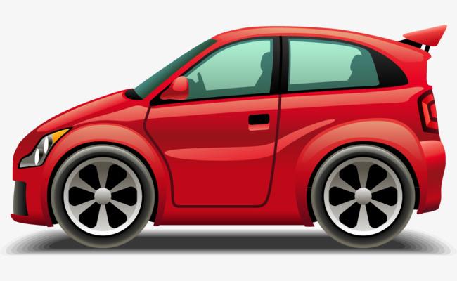 Red Single Door Window Vector Car Png And