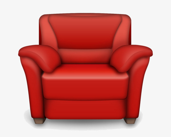 Red Sofa Furniture Furniture Clipart Sofa Furniture Png Image And
