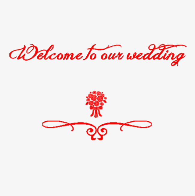 Red Wedding Flowers Wedding Clipart Lace Letter Png Image And