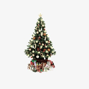 Retro New Year Christmas Tree Tree Clipart New Clipart Retro Png