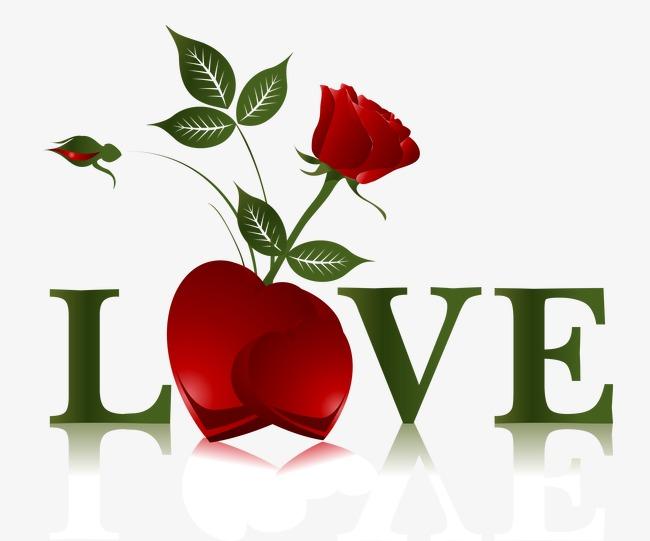Amour De Rose La Saint Valentin Romantique Rose Je T Aime Png Et