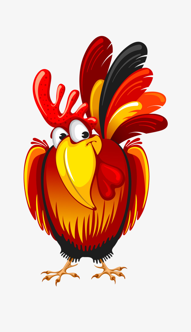 rooster head cartoon - 650×737