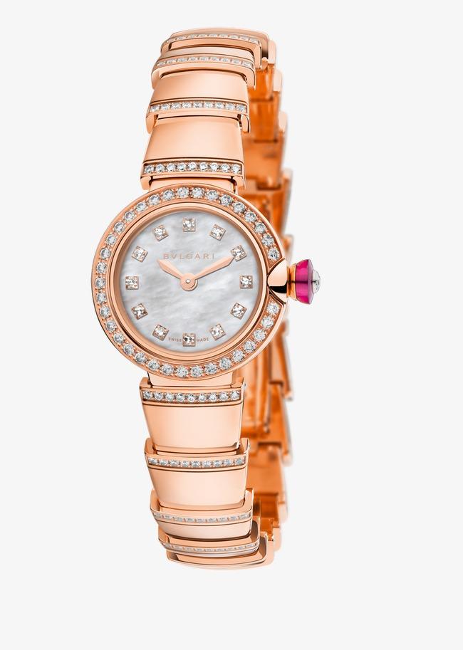 Relógio de Pulso feminino relógio Bvlgari Ouro Rosa com Diamantes Grátis  PNG e Clipart 1c65fdeb8a
