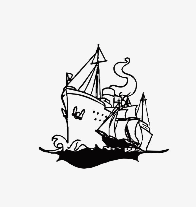 Kapal Layar Bayang Belayar Bayang Ilustrasi Imej Png Dan Clipart