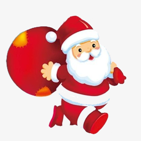 Christmas Giving Clipart.Santa Claus Giving Gifts Element Santa Clipart Santa Claus