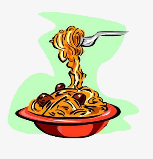 Satisfy The Taste Buds Cartoon Noodles Delicious Png Image And