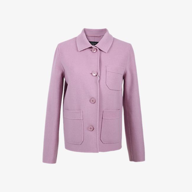 Petite veste courte en laine