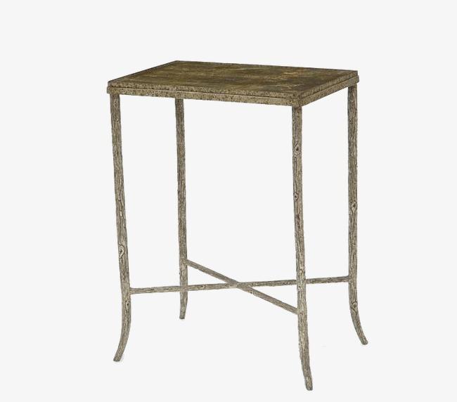 Belle Table De Silhouette 3d De Decoration Table Des Materiaux