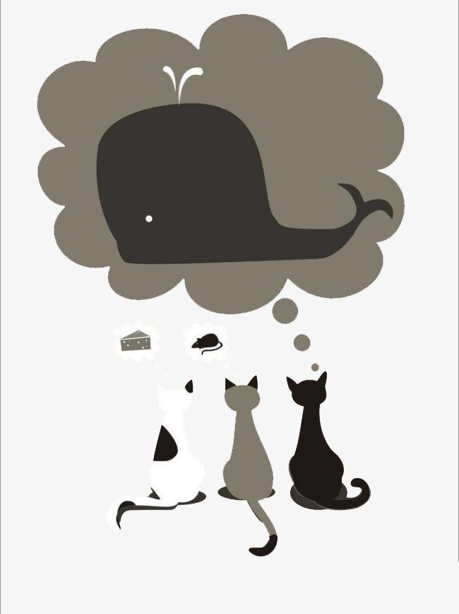 Dessin De Chat Simple Illustration Illustration Chat Mignon Image