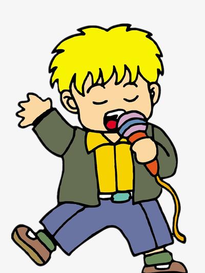 les gar u00e7ons chanter couleur personnage dessin image png