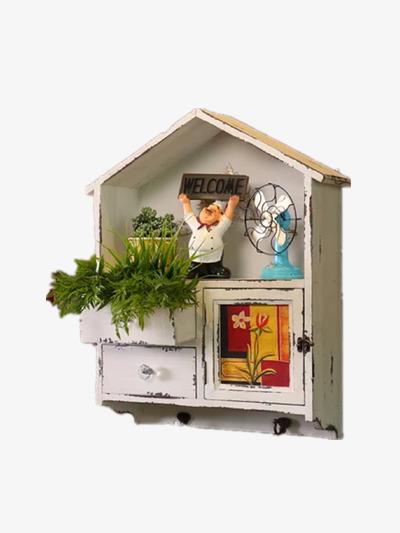 Rumah Kecil Gambar Hiasan Rumah Kecil Tiga Dimensi Imej Png Dan