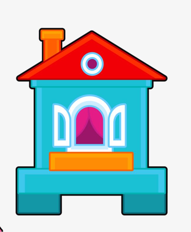 Petite Maison Avec Une Cheminee De Fenetrage Dessin De La Fenetre De