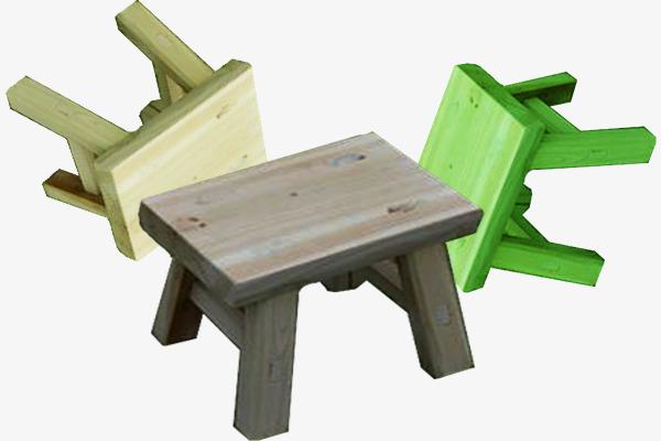 Piccolo sgabello di legno fisica piccolo sgabello di legno wood