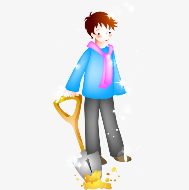 snow shoveling snow snow cartoon png image and clipart for free