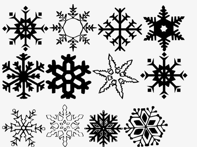 Snowflake Snowflake Clipart Black And White Image And Clipart