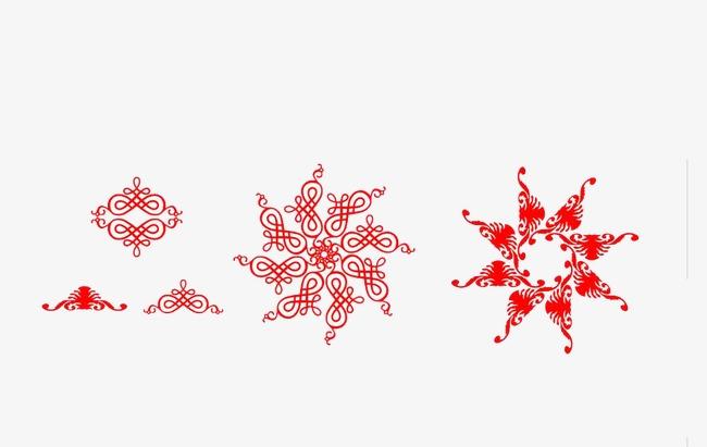 Copo De Nieve Copo De Nieve Corte De Papel Rojo Imagen PNG